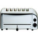 6 SLOT POLISHED TOASTER