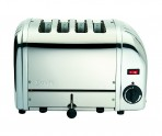 4 SLOT VARIO TOASTER POLISHED